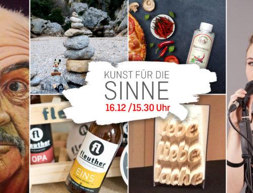 """""""KUNST FÜR DIE SINNE"""" – EVENT AM 16.12.17 / 15.30"""