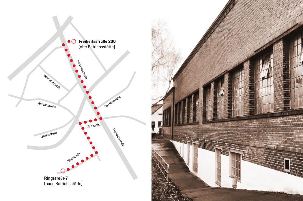 Eingang Betriebsstätte